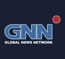 GNN GLOBAL NEWS NETWORK T-SHIRT (Anchorman 2) by Groatsworth