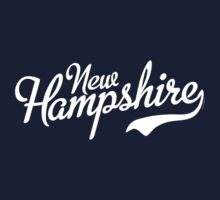 New Hampshire Script White by USAswagg2