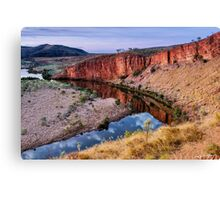 Pigeonhole Lookout Canvas Print