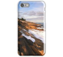 Pemaquid Point Lighthouse Seascape iPhone Case/Skin