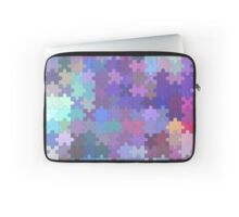 Seamless puzzle  pattern Laptop Sleeve