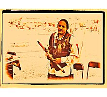 """""""American Native from the Crow Nation, version 2""""... prints and products Photographic Print"""