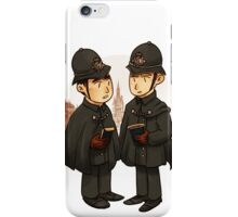 Victorian cops iPhone Case/Skin