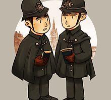 Victorian cops by elizakaze
