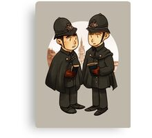 Victorian cops Canvas Print
