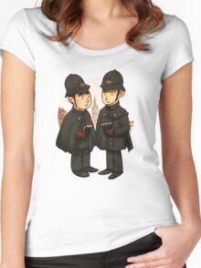 Victorian cops Women's Fitted Scoop T-Shirt