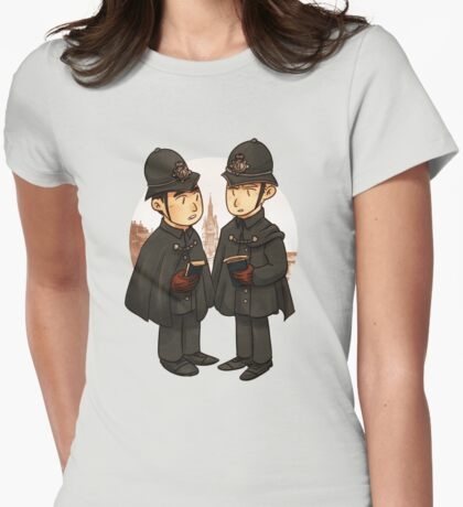 Victorian cops Womens Fitted T-Shirt