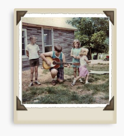 """""""THE MAMAS & THE PAPAS: BEFORE THEY WERE MAMAS & PAPAS""""... prints and products Canvas Print"""
