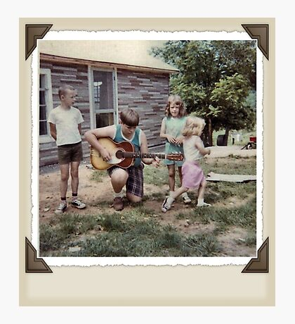 """""""THE MAMAS & THE PAPAS: BEFORE THEY WERE MAMAS & PAPAS""""... prints and products Photographic Print"""