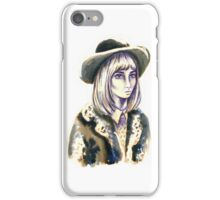 Winter Coat It Girl iPhone Case/Skin