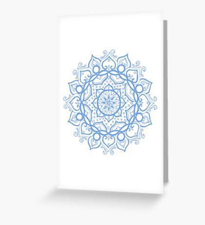 Floris blue Greeting Card