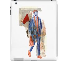Grocery Shopping Hipster iPad Case/Skin