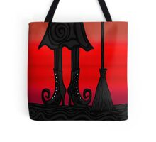 Halloween black witch Tote Bag