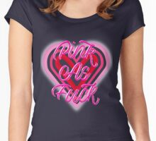 PINK AS F*CK Women's Fitted Scoop T-Shirt