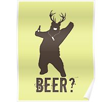 Beer? Poster