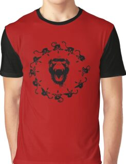12 monkeys logo print Graphic T-Shirt
