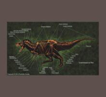 Tyrannosaurus Rex Skeleton Study Kids Clothes