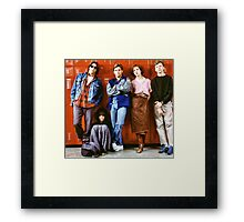 Breakfast Club Framed Print