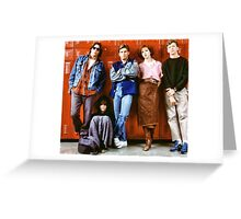 Breakfast Club Greeting Card