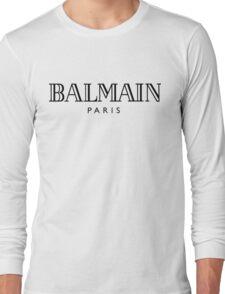 Balmain white Long Sleeve T-Shirt