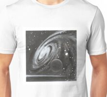 Cosmic Swirl and black dwarf Unisex T-Shirt