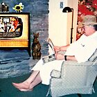 Relaxing with a Paper to a Cooter and Kooter Law Firm TV Advertisement  by © Bob Hall