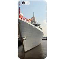 Flags on a warship    iPhone Case/Skin