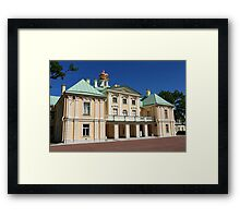 Palace in classical style Framed Print