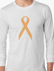 Appendix Cancer Awareness ribbon Long Sleeve T-Shirt