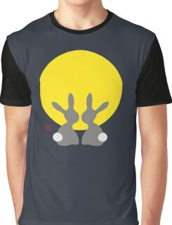 Watching The New Moon Graphic T-Shirt