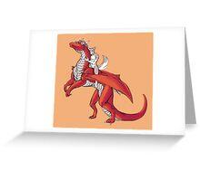 Dragon Rider Greeting Card