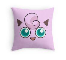Jigglypuff Throw Pillow