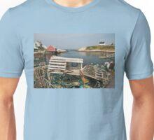 Peggy's cove through a lobster trap Unisex T-Shirt