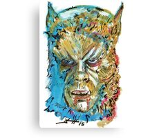 Curse of the Werewolf  Canvas Print