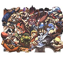 Street Fighter Tribute Photographic Print