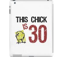 Women's Funny 30th Birthday iPad Case/Skin