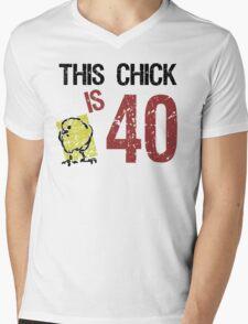 Women's Funny 40th Birthday Mens V-Neck T-Shirt