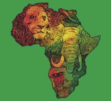 Africa Kids Tee