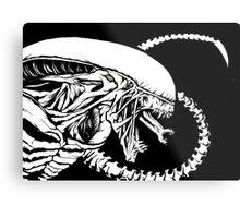Alien Xenomorph Metal Print