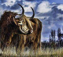 Zombie Bovine by GolemAura