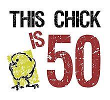 Women's Funny 50th Birthday Photographic Print