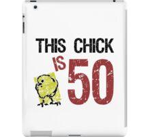 Women's Funny 50th Birthday iPad Case/Skin