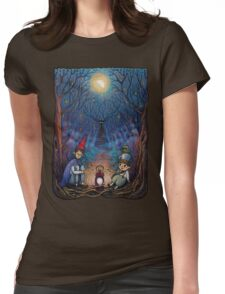 Over the Garden Wall Womens Fitted T-Shirt
