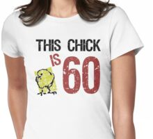 Women's Funny 60th Birthday Womens Fitted T-Shirt