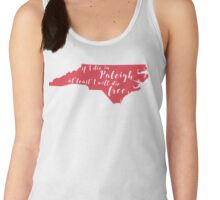 Wagon Wheel NC in Red Women's Tank Top