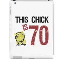 Women's Funny 70th Birthday iPad Case/Skin