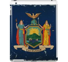 New York State Flag VINTAGE iPad Case/Skin