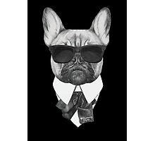 Badass dog  Photographic Print