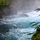 Blue Water at the Falls by gcampbell