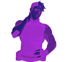 Voltron: Shiro (Purple) Photographic Print